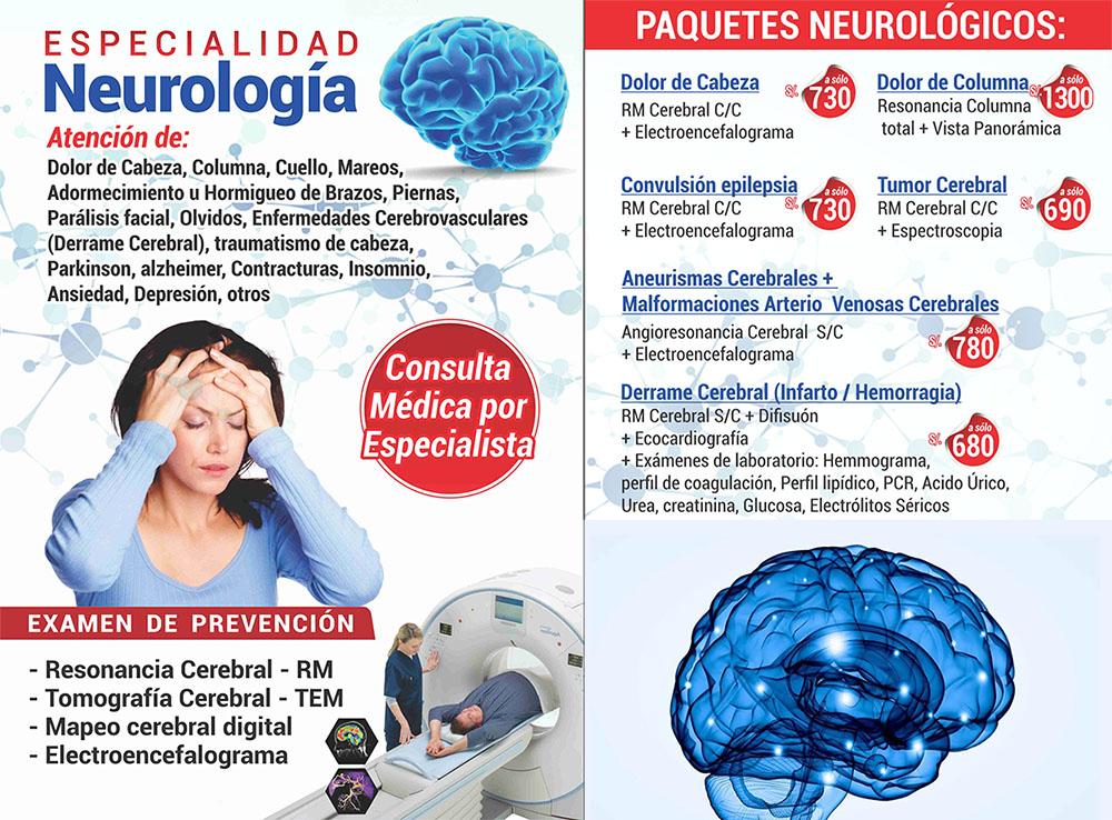 especialidad de neurología