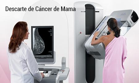 Mamografía bilateral descarte de cáncer de mama
