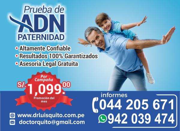ADN Paternidad Trujillo