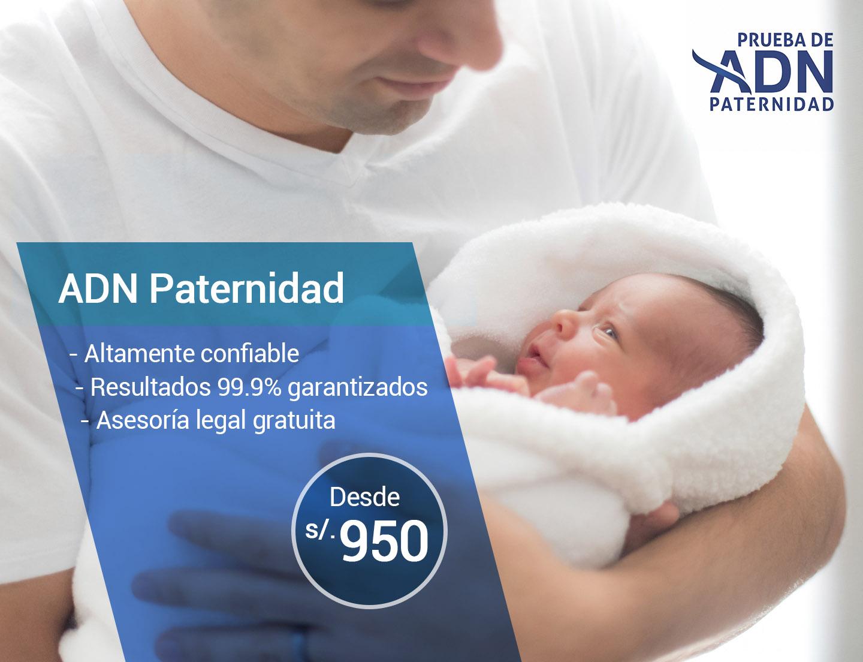 ADN Paternidad segura, confiable, asesoría legal gratuita